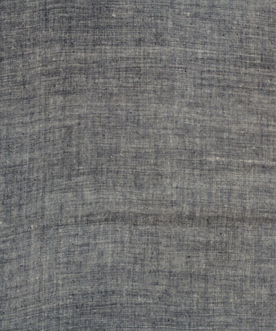 Khadi Nation Handwoven Dark Blue and White Cotton Khadi Fabric