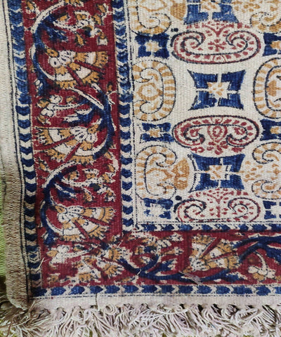 Multi color handloom warangal kalamkari carpet