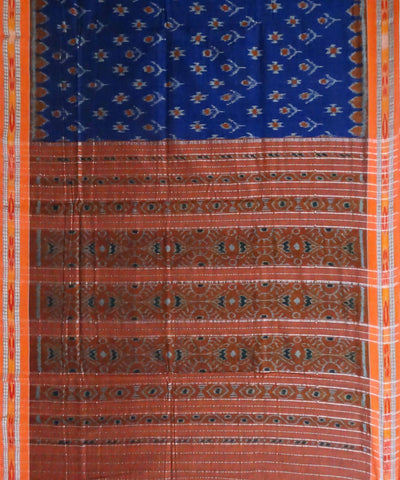 Blue Nuapatna Cotton Handloom Saree