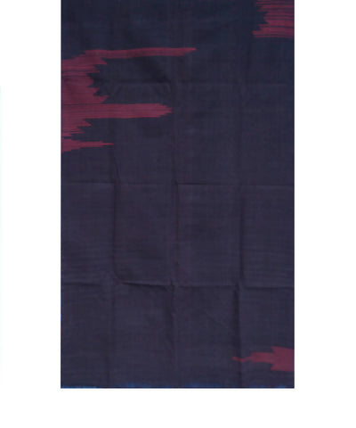 Maroon Black Natural Dye Handloom Kotpad Cotton Stole