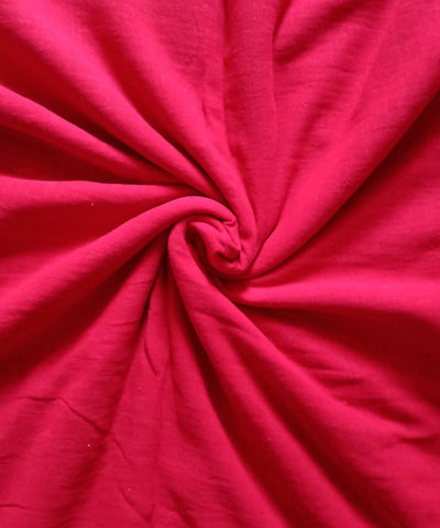 Red Handwoven Natural Dyed Cotton Kotpad Fabric