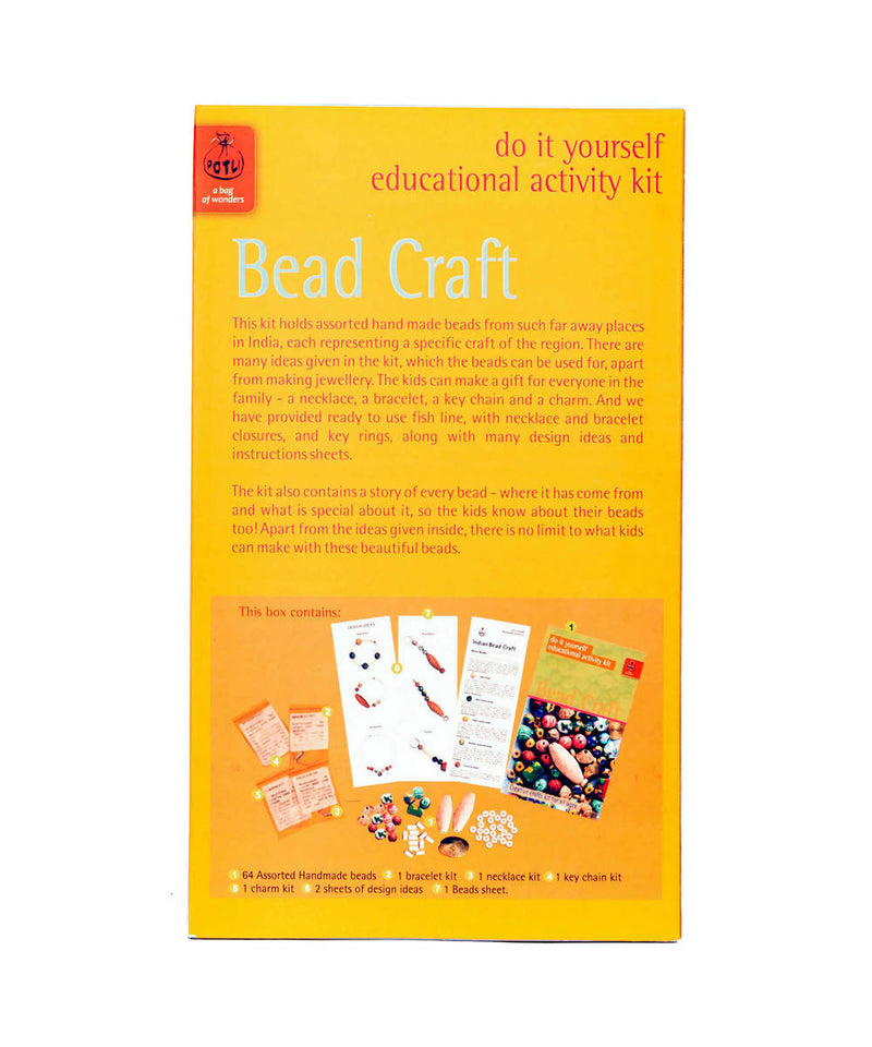 Handmade DIY Educational Toys Indian Beads Craft kit