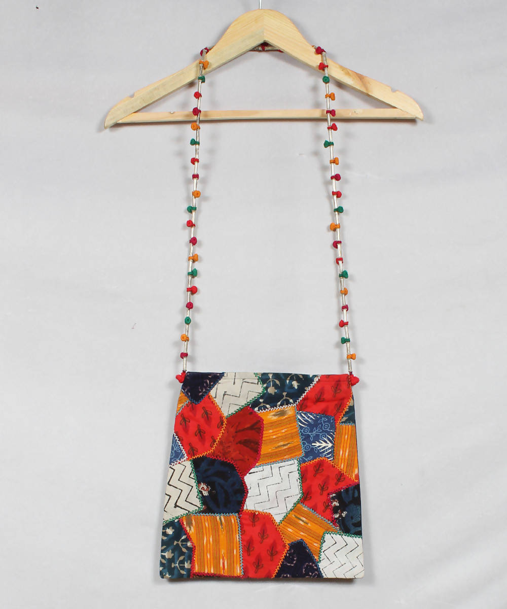 Multicolour Lambani Embroidery Sling Bag