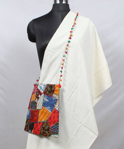Lambani Embroidery Multicolour Sling Bag