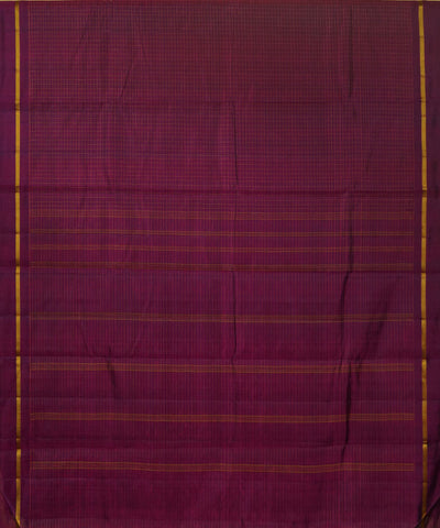 Wine Pink Handwoven Arni Silk Saree