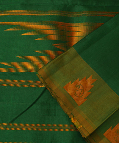 Arni Handloom Silk Saree in Green