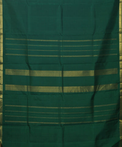 Handloom Green Arni Silk Saree