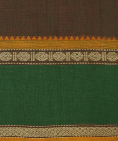 Aruppukottai Handwoven Cotton Double Shade Saree