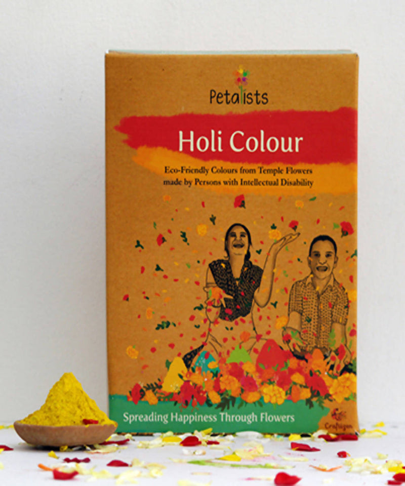 Petalists eco friendly holi colour yellow
