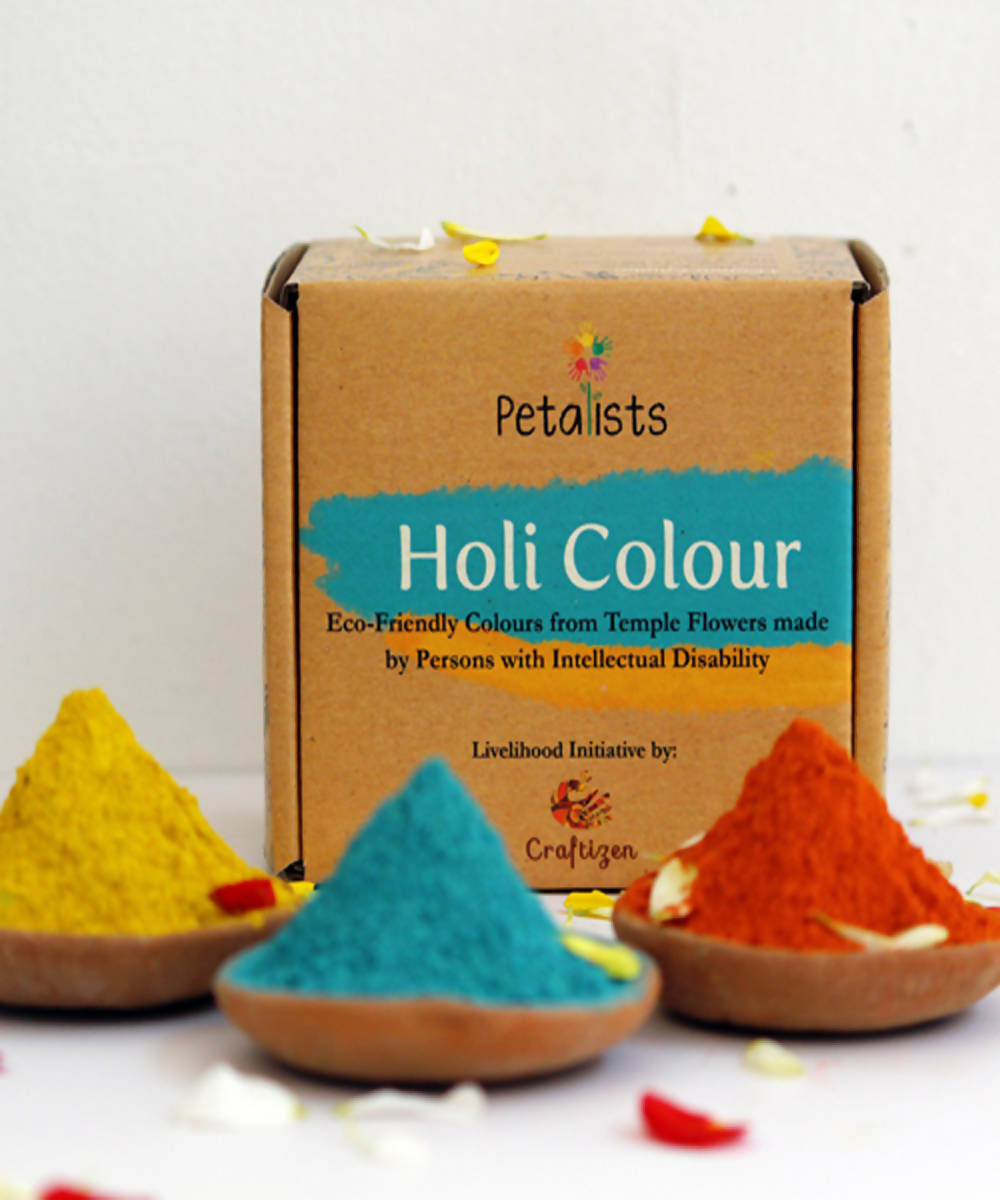 Petalists eco friendly holi colour combo of 3