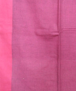Black Pink Handspun Handwoven Cotton Saree
