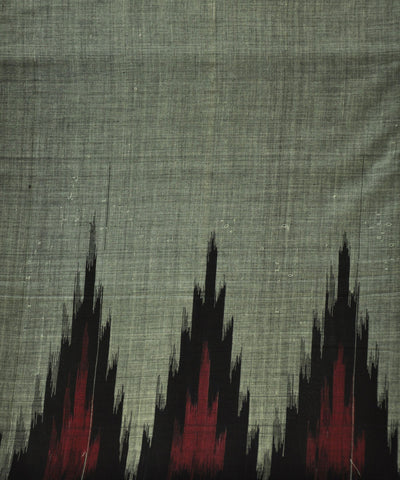Nuapatna Grey Kargil Cotton Saree