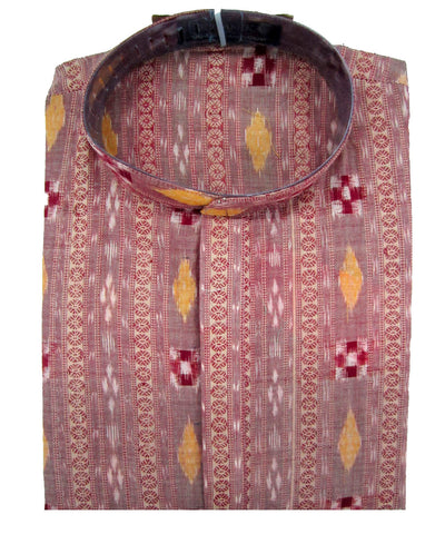 Bargarh Pink Cotton Kurta