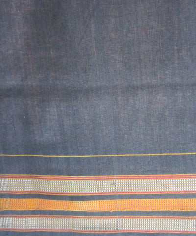 Traditional Peach Cotton Saree