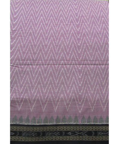 Traditional Lavender Cotton Saree