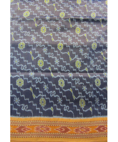 Nuapatna Shiney Blue Khandua Silk Saree