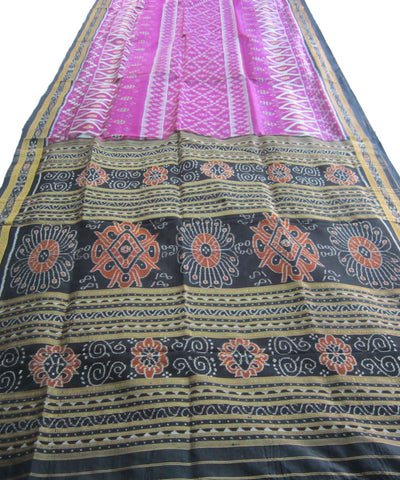 Nuapatna Purple Khandua Silk Saree