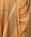 Light yellow ochre Handwoven Kullu Woolen Sha