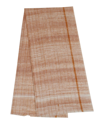 Orange Striped Handloom Cotton Towel