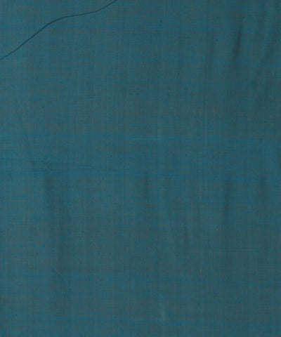 Handloom Grey Blue Reversible Cotton Fabric