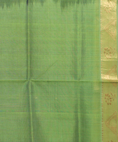 Green Handwoven Andhra Sico Saree