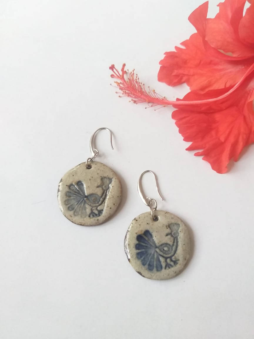 Peacock Ceramic Dangler