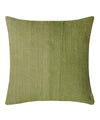 Tussar Olive Color Cushion Cover