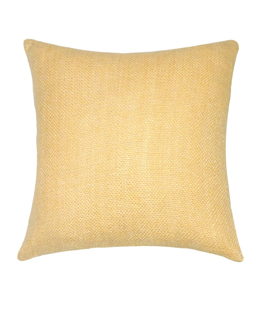 Tussar Silk Cream Color Cushion Cover