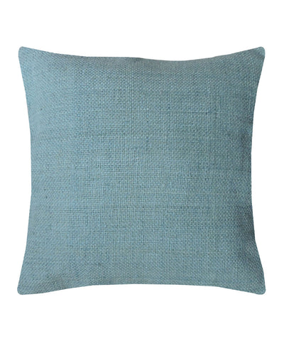 Tussar Silk Sapphire Color Cushion Cover