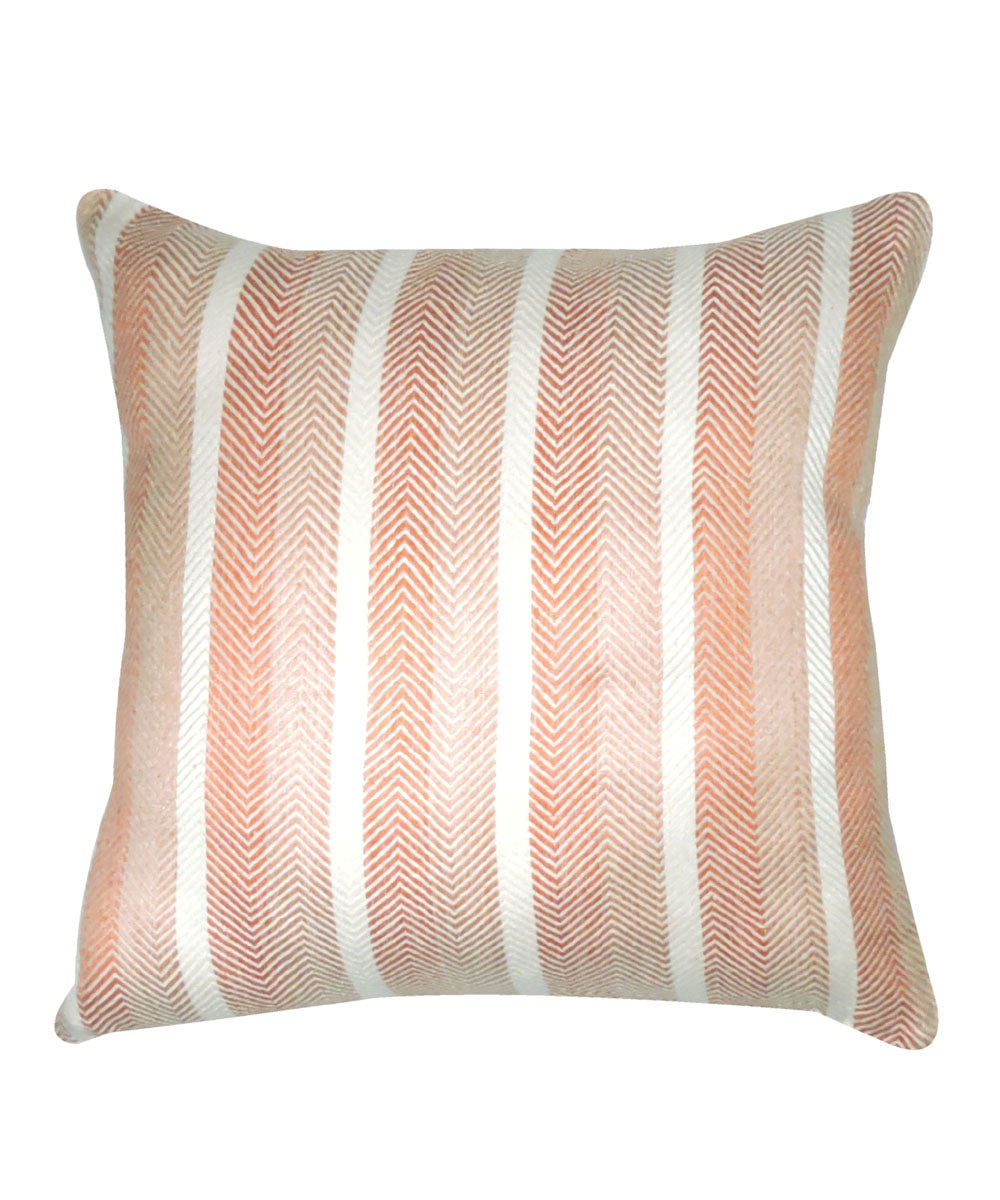 Eri Silk Dual Color Cushion Cover