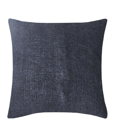 Tussar Silk Ash Grey Color Cushion Cover