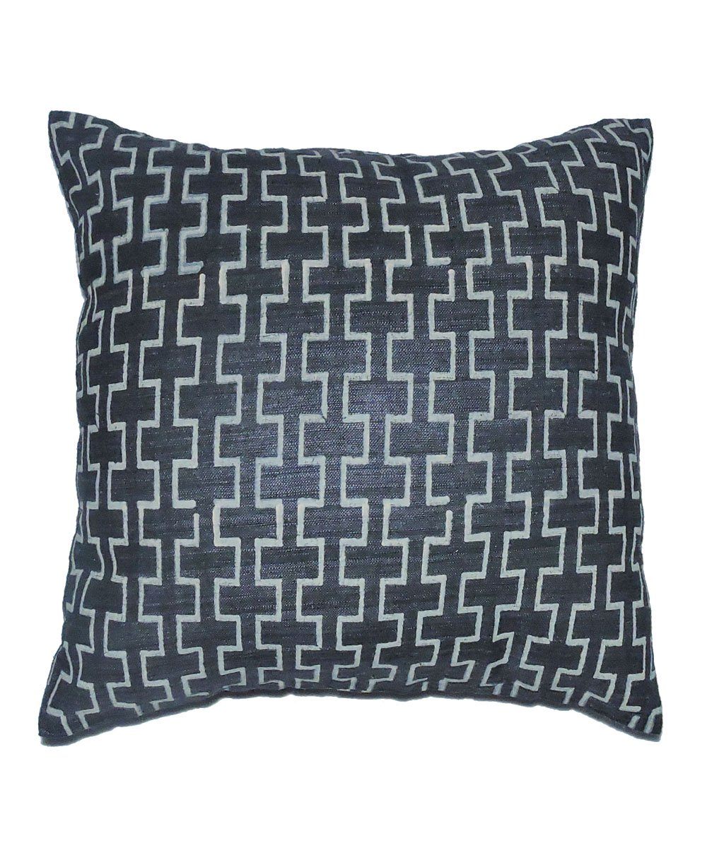 Eri Silk Pebble Grey Color Cushion Cover