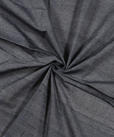 Handloom Grey Cotton Fabric