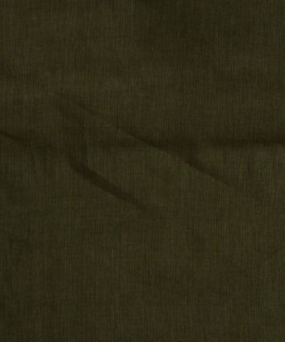 Khadi Nation Moss Green Khadi Cotton Fabric