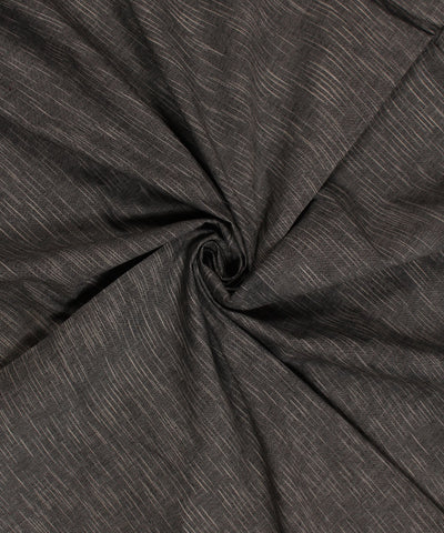 Black and White Muslin Khadi Cotton Fabric