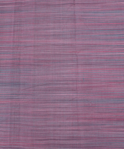 Pink Striped Handloom Cotton Fabric