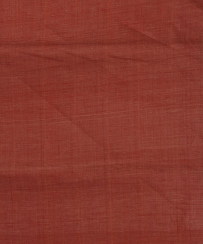 Light Orange Muslin Khadi Cotton Fabric