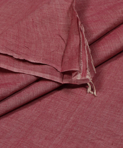 Khadi Nation Peach Khadi Cotton Fabric