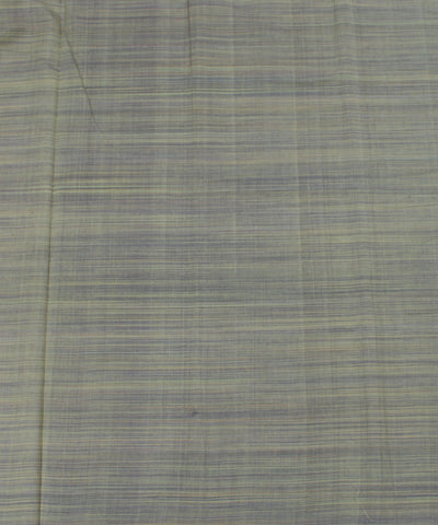 Green Striped Handloom Cotton Fabric