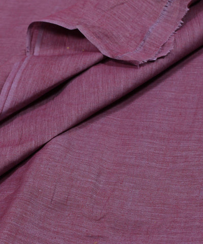 Khadi Nation Light Purple Khadi Cotton Fabric