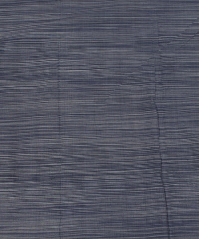 Blue and White Striped Handloom Cotton Fabric