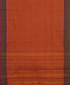 Orange Handloom Chettinadu Cotton Saree