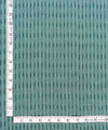Green Handloom Cotton Ikat Fabric