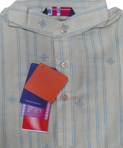 Chandan Colour Sambalpuri Gents Kurta
