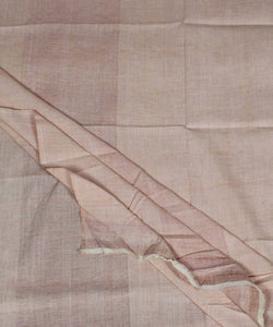 Light Brown Muslin Handloom Khadi Fabric