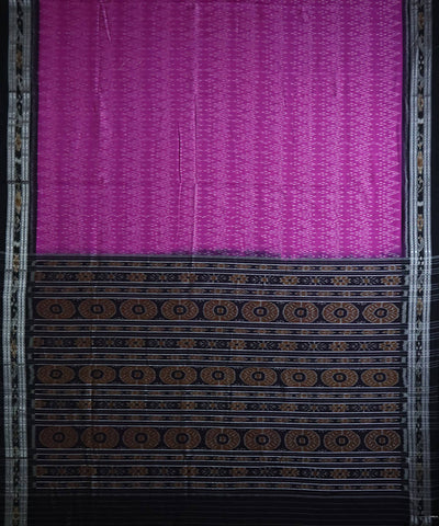 Violet cotton handloom nuapatna saree