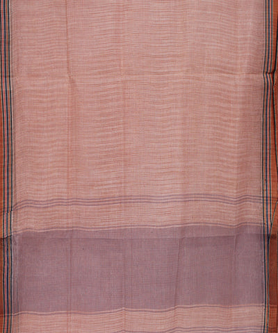 Khadi Nation Handwoven Checks Cotton Saree