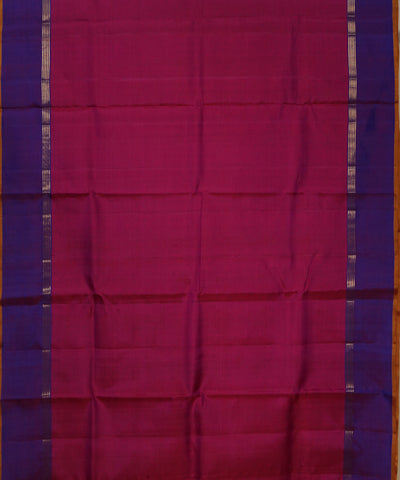 Pink Purple Handloom Arni Silk Saree