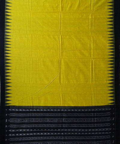Orange Yellow Eri Silk Handloom Saree