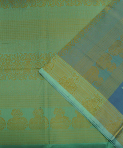 Blue Handloom Paramakudi Cotton Saree
